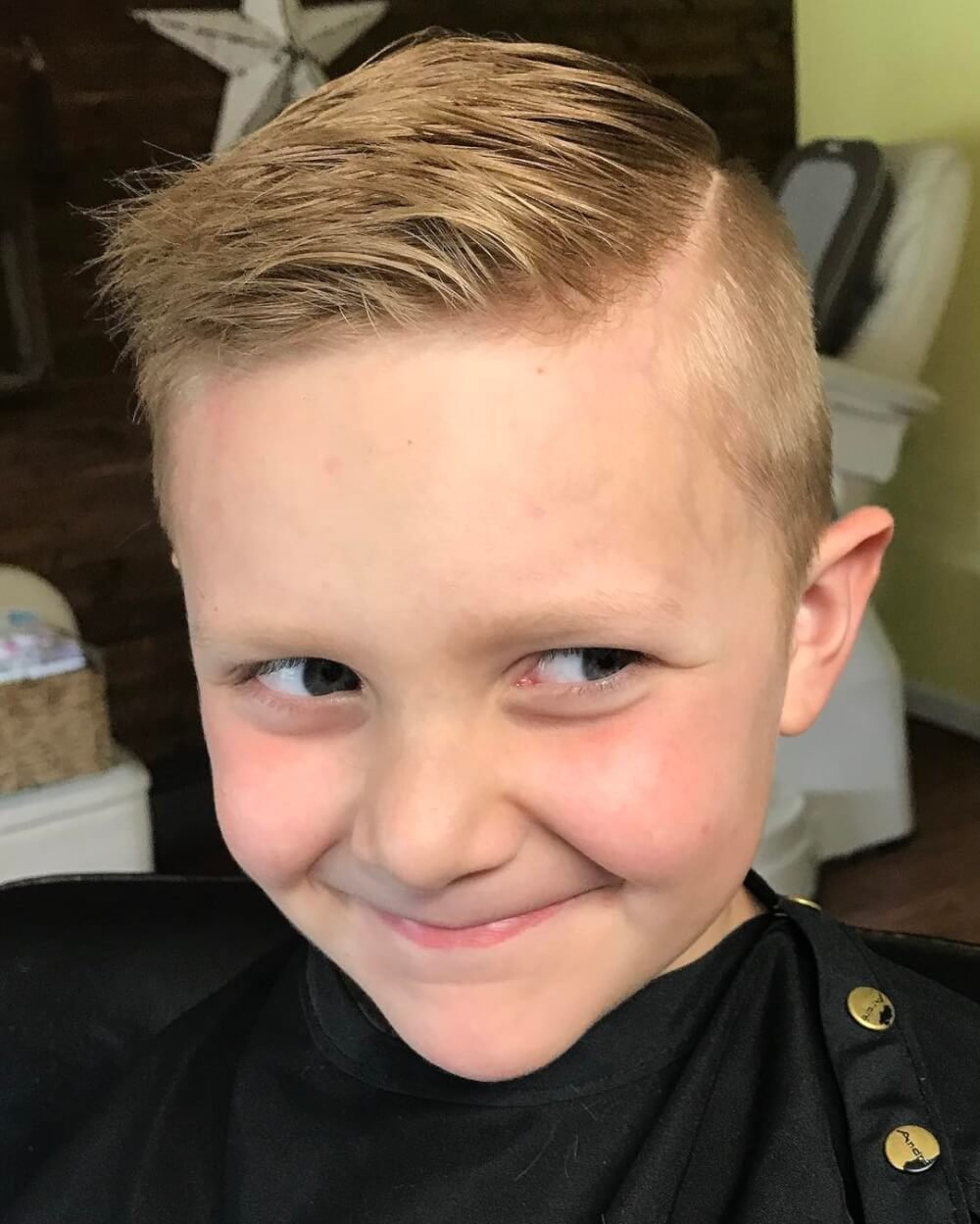 New 31 Cutest Boys Haircuts For 2018 Fades Pomps Lines More Ideas With Pictures