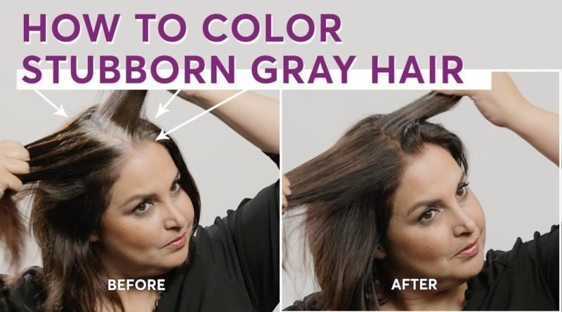 New How To Color Stubborn Gray Hair – Celeb Fashion Today Ideas With Pictures
