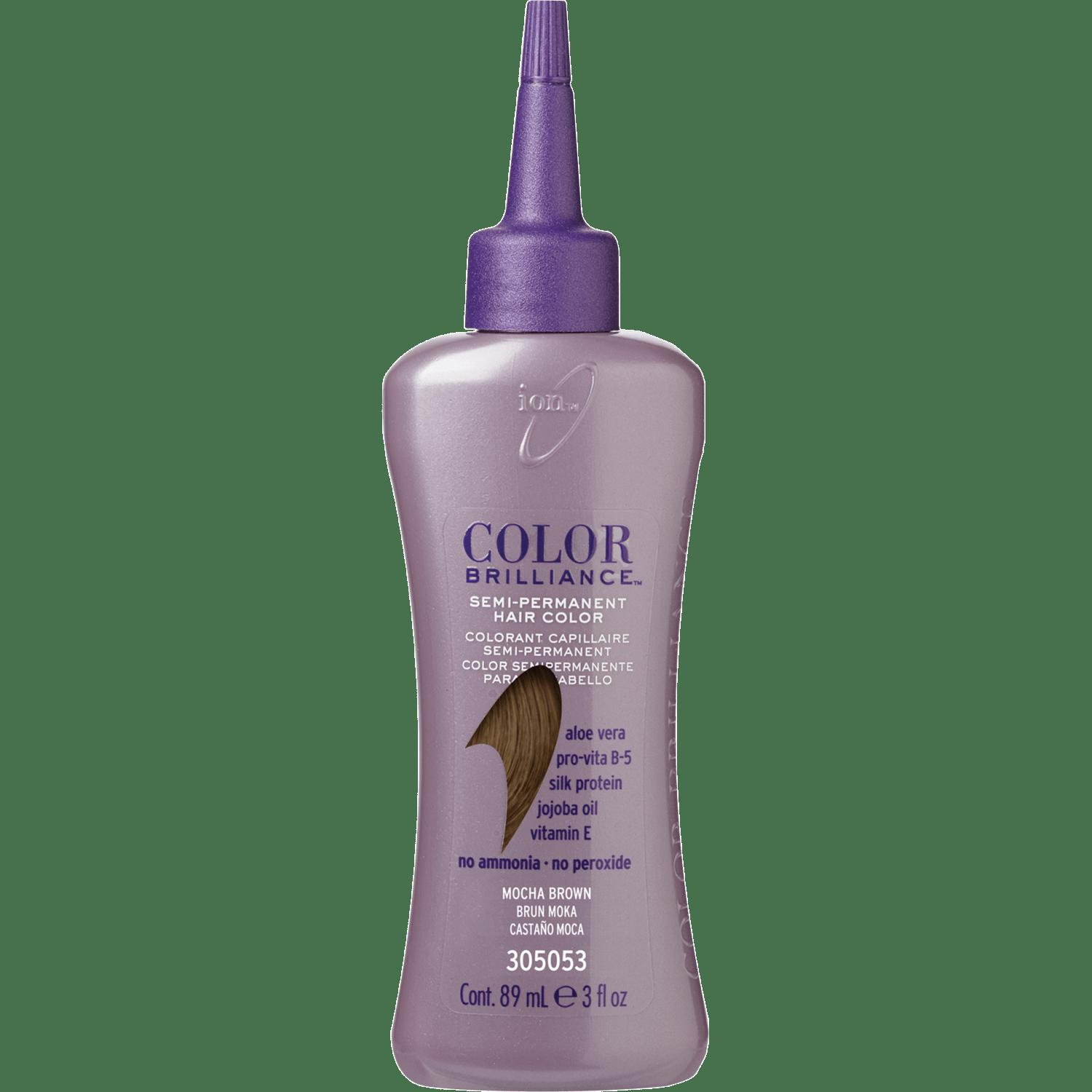 New Ion Color Brilliance Semi Permanent Hair Color Mocha Brown Ideas With Pictures