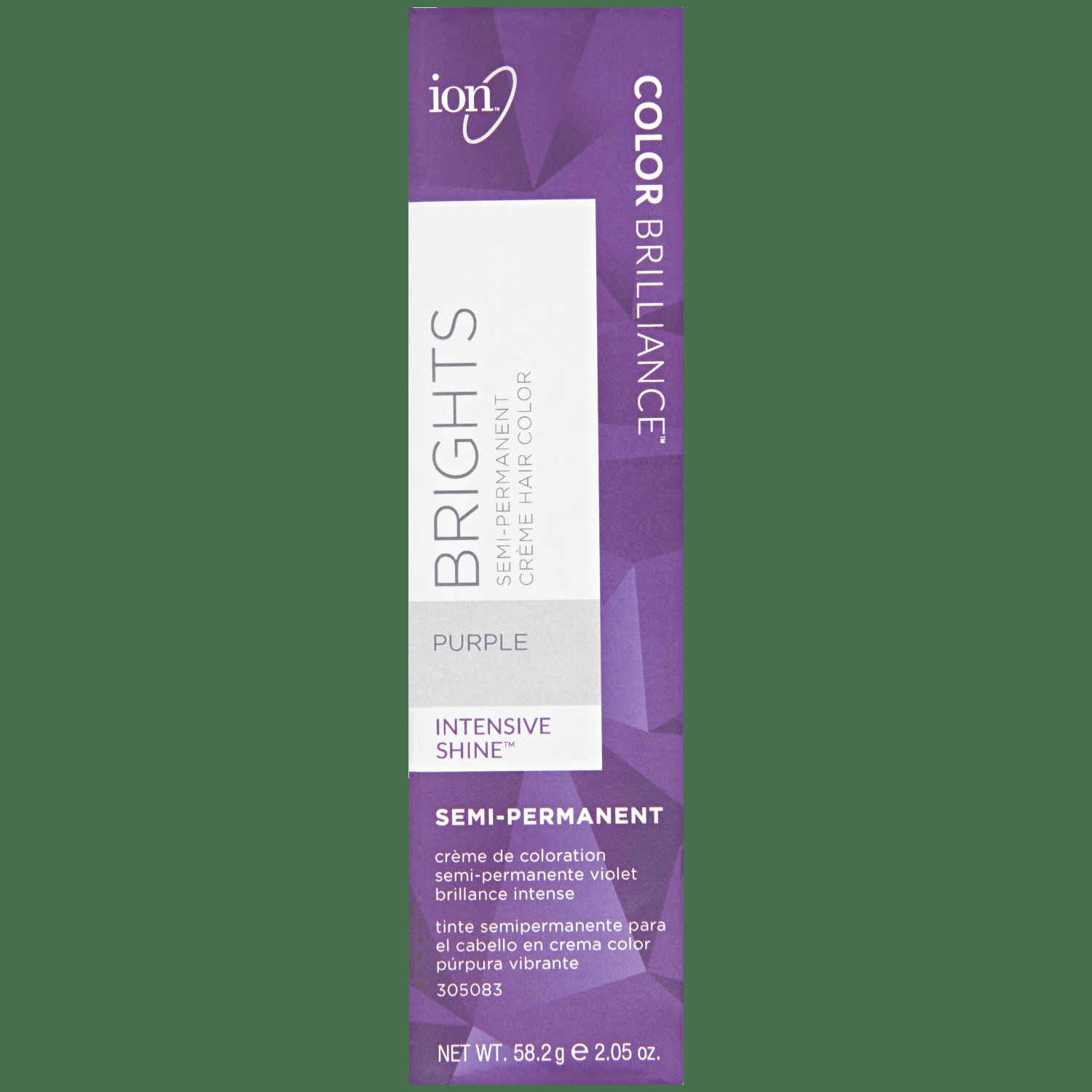 New Ion Color Brilliance Semi Permanent Brights Hair Color Purple Ideas With Pictures