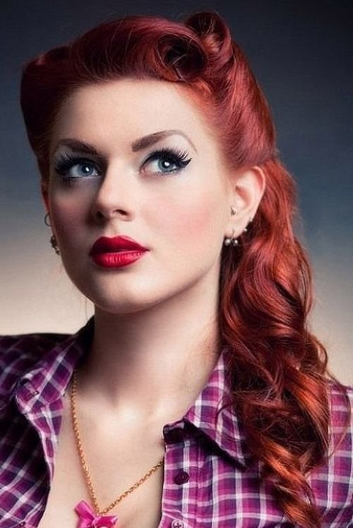 New 1950S Hairstyles For Long Hair Elle Hairstyles Ideas With Pictures