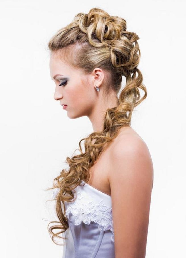 New Curly Prom Hairstyles Hairstyle Album Gallery Ideas With Pictures