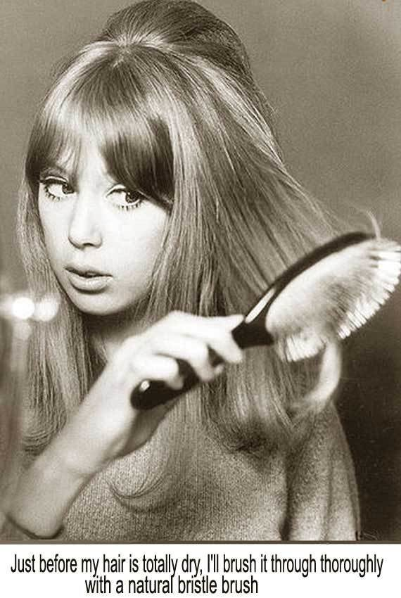 New 1960S Long Hairstyle Tips – By Sixties Model Pattie Boyd Ideas With Pictures