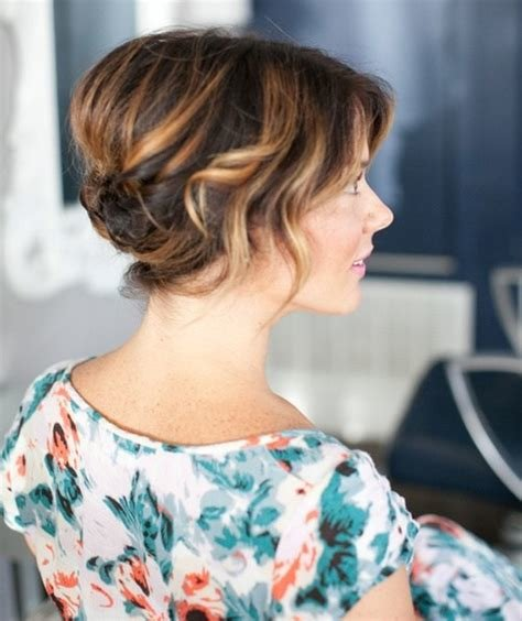 New 60 Updos For Short Hair – Your Creative Short Hair Inspiration Ideas With Pictures