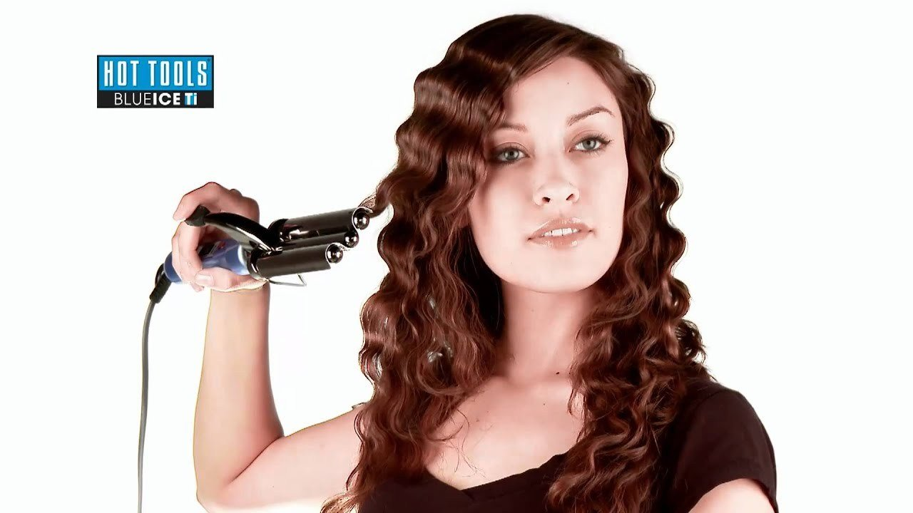 New Hot Tools 3 Barrel Waver Youtube Ideas With Pictures