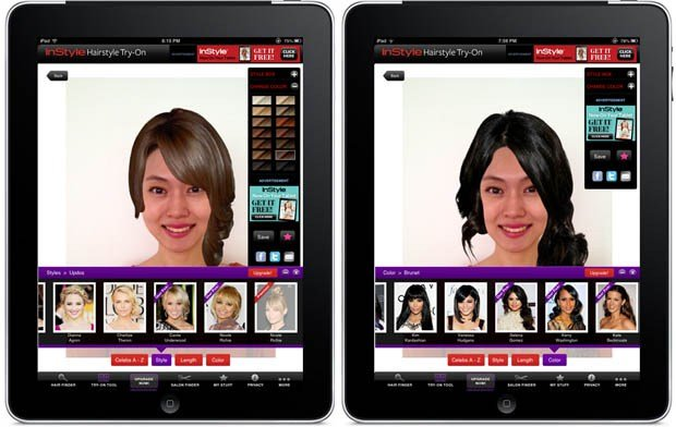 New App Try Out A New Hairstyle Without Going To The Salon Ideas With Pictures