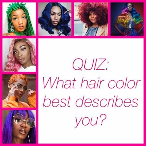 New Quiz What Hair Color Best Describes You – The Cut Life Ideas With Pictures