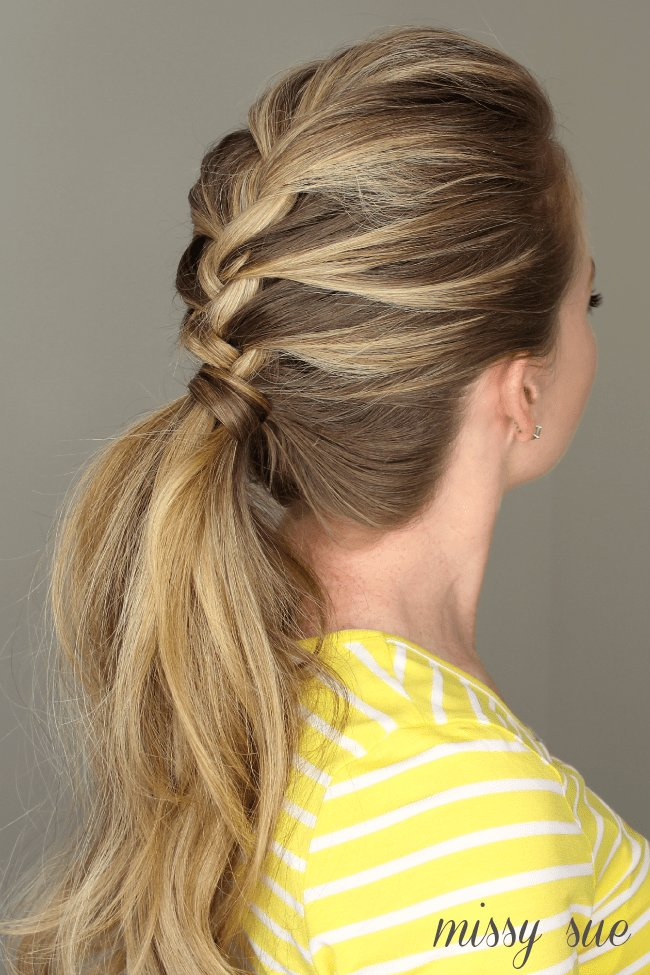 New French Braid Ponytail Ideas With Pictures
