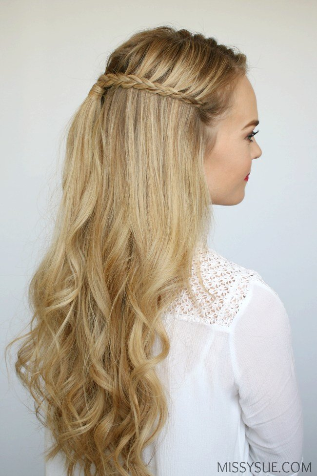New Mini Braids And Beach Waves Missy Sue Ideas With Pictures