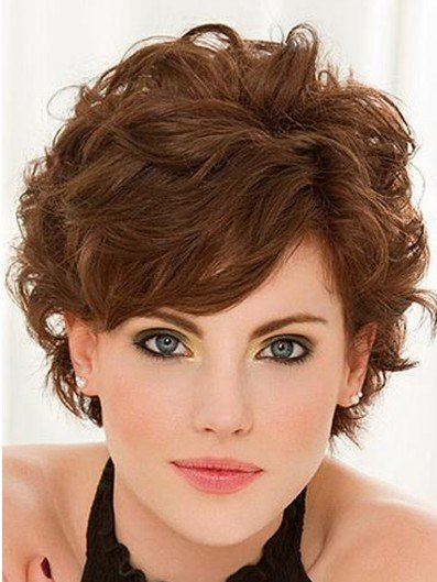 New Short Curly Hairstyles With Bangs Popular Haircuts Ideas With Pictures