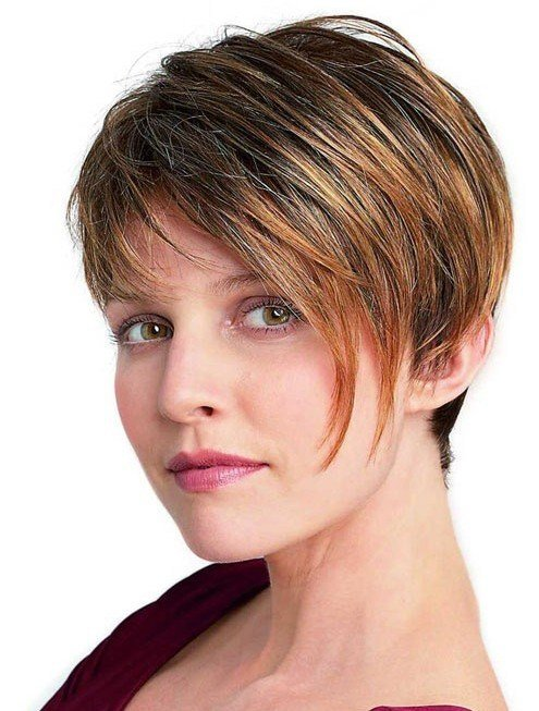 New Short Hairstyles For Women Thick Hair Popular Haircuts Ideas With Pictures