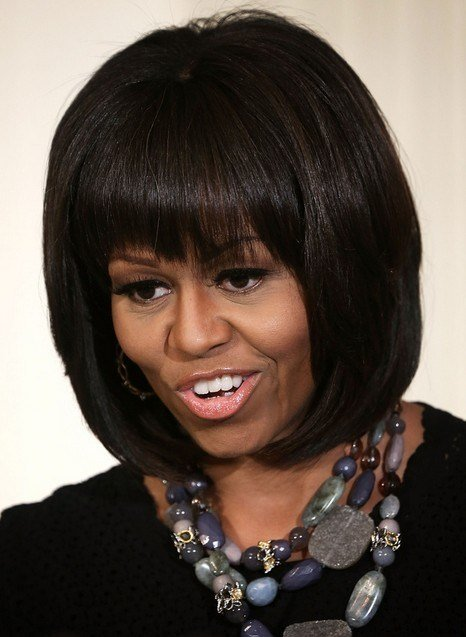 New 5 Michelle Obama Hairstyles Classic Haircut Popular Ideas With Pictures