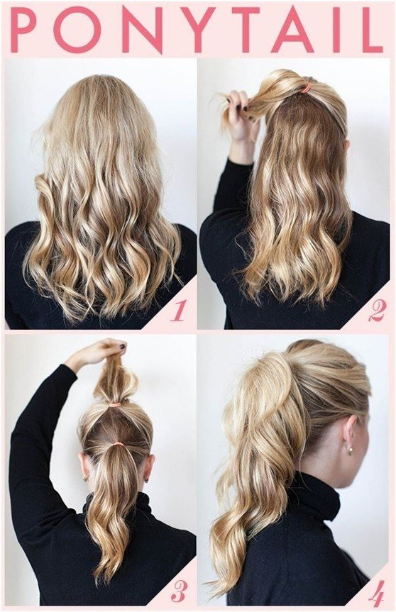 New 15 Cute And Easy Ponytail Hairstyles Tutorials Popular Ideas With Pictures