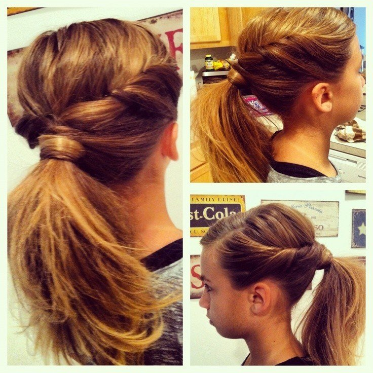 New 10 Cute Ponytail Ideas Summer And Fall Hairstyles For Ideas With Pictures
