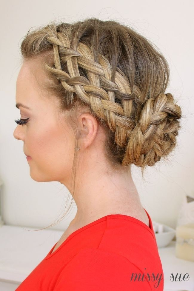 New 20 Pretty Braided Updo Hairstyles Popular Haircuts Ideas With Pictures
