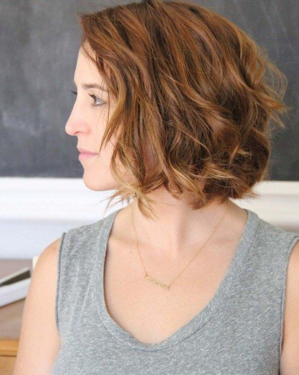 New 21 Stunning Wavy Bob Hairstyles Popular Haircuts Ideas With Pictures