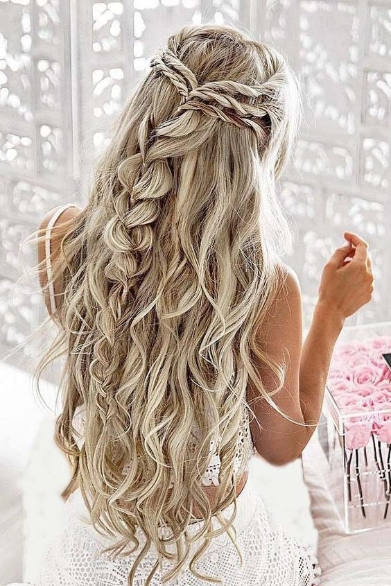 New 10 Pretty Braided Hairstyles For Wedding Wedding Hair Ideas With Pictures