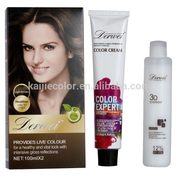 New 100Ml Professional Permanent Salon Hair Color Dye Products Ideas With Pictures