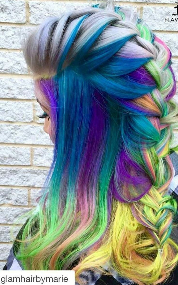 New 1000 Ideas About Rainbow Dyed Hair On Pinterest Rainbow Hair Dyed Hair And Hair Colors Ideas With Pictures
