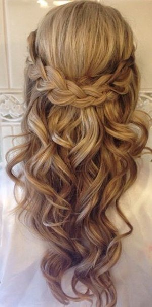 New 20 Amazing Half Up Half Down Wedding Hairstyle Ideas Oh Ideas With Pictures