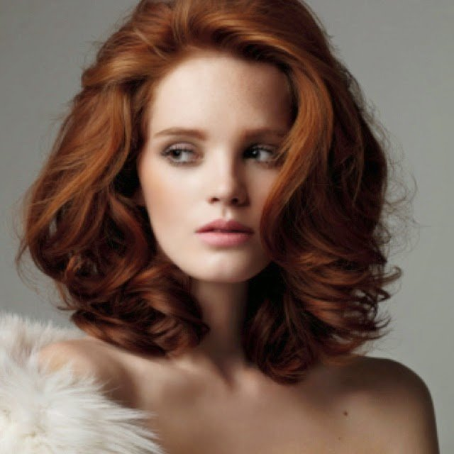 New Medium Red Hairstyles For Girls Hair Fashion Online Ideas With Pictures
