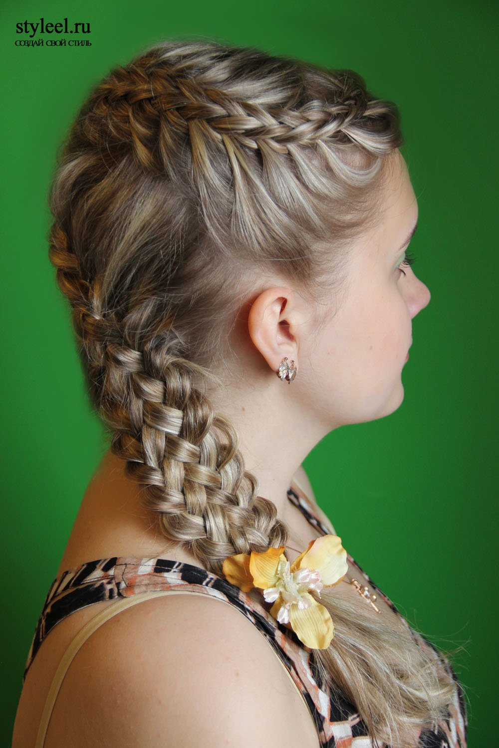 New Local Style Forty And One Braid Hairstyles Ideas With Pictures Original 1024 x 768