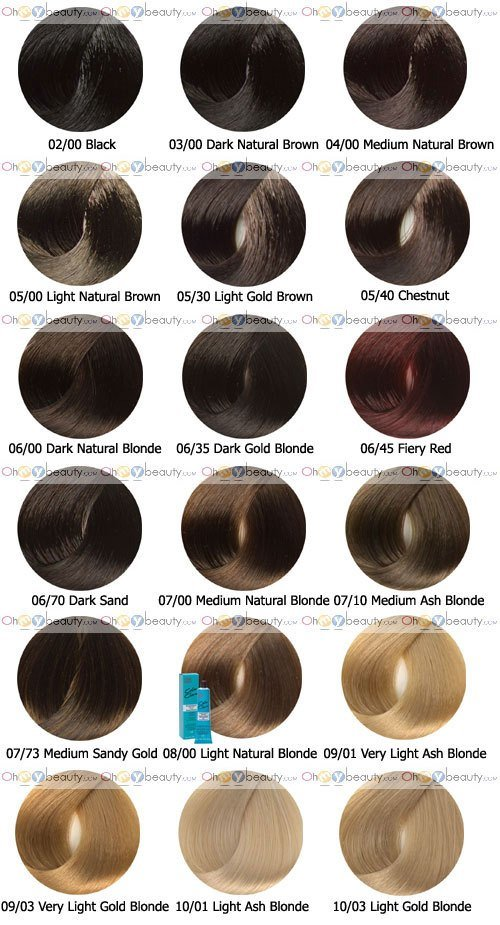 New Wella Color Charm Demi Permanent Haircolor 2Oz 6 Pack Ideas With Pictures
