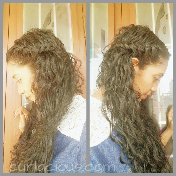 New Everyday Hairstyles For Indian Naturally Curly Or Wavy Ideas With Pictures