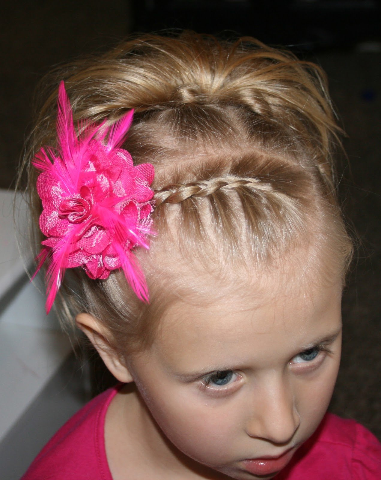New Little Girl Hairstyle Tutorial 7 Knot Hair Do Ideas With Pictures