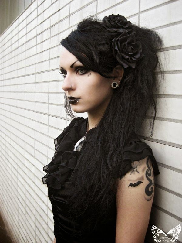 New Gothic Hairstyles The Haircut Web Ideas With Pictures