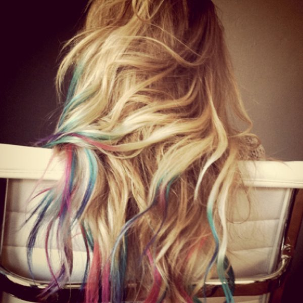 New The Hair Stylist Blog Hair Chalking What Do You Think Ideas With Pictures