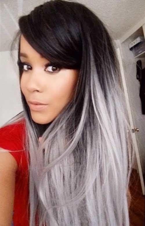 New 25 New Grey Hair Color Combinations For Black Women – The Ideas With Pictures