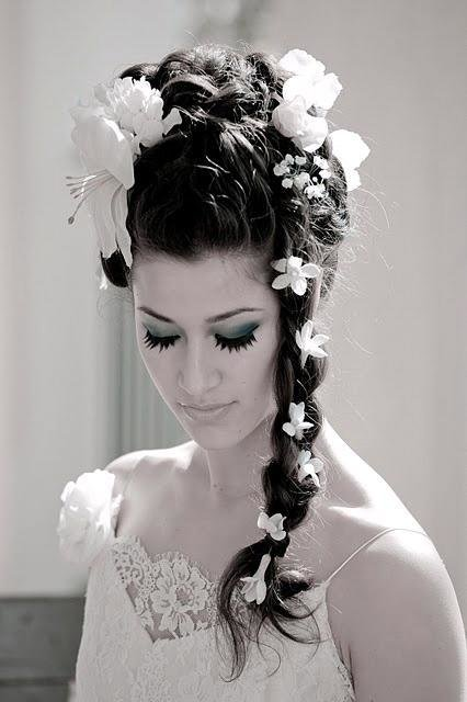 New The Northern Bride Wedding Hairstyles With Flowers Ideas With Pictures