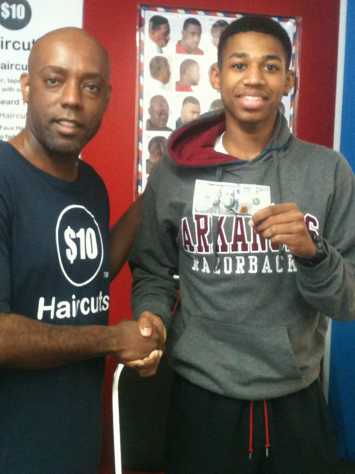 New 10 Dollar Haircuts 76011 100 00 Cash Goes To Julius Ideas With Pictures