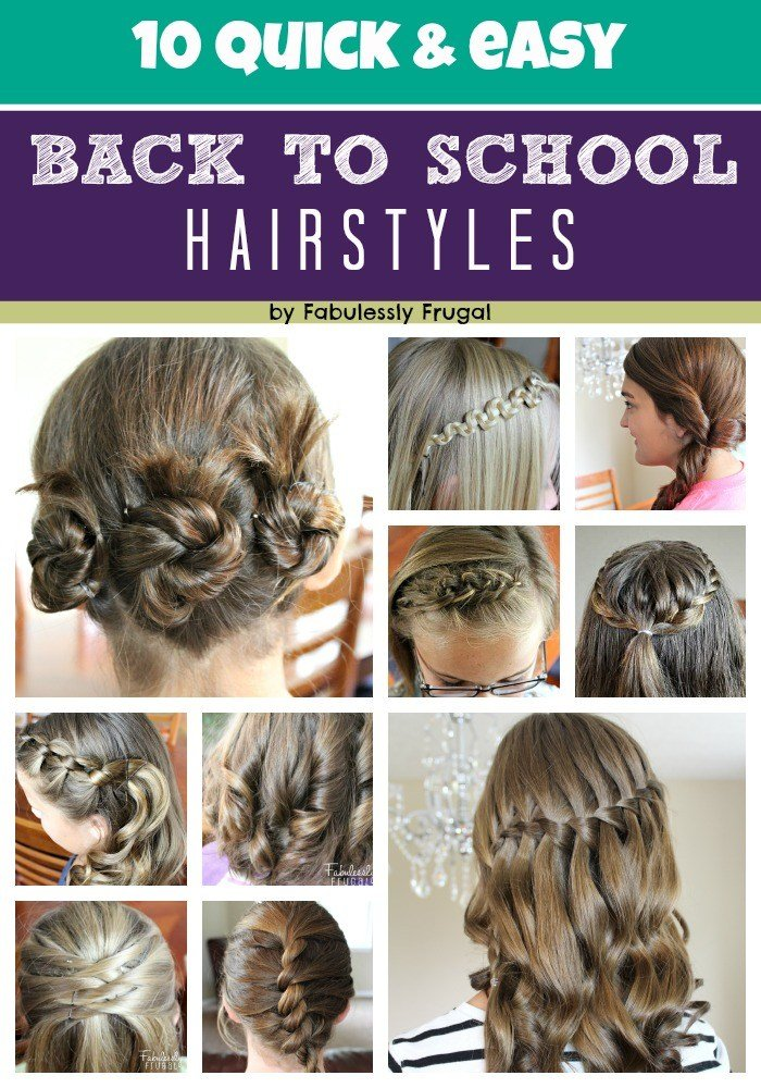 New 10 Easy Back To School Hairstyle Ideas Fabulessly Frugal Ideas With Pictures Original 1024 x 768