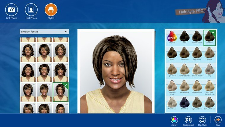 New Hairstyle Pro App For Windows In The Windows Store Ideas With Pictures