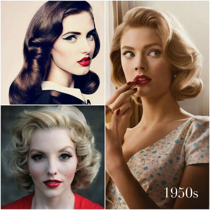 New Vintage Hairstyles That Match Your Vintage Dress Hair World Magazine Ideas With Pictures