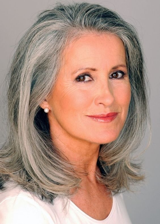 New Beautiful Gray Hair Cuts Hair World Magazine Ideas With Pictures