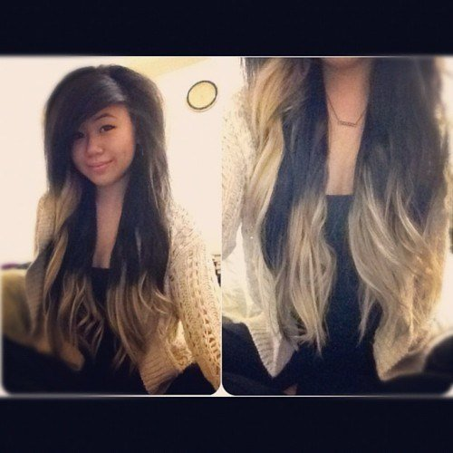New Half Blonde Half Black Hair Hair Colors Ideas Ideas With Pictures
