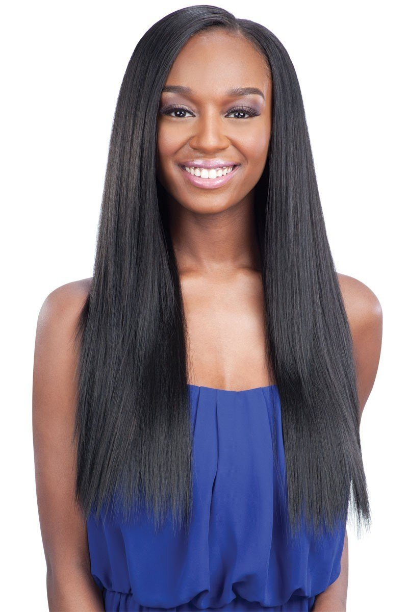 New Shake N Go Que Weave Human Hair Mix Malaysian Silk Press Ideas With Pictures