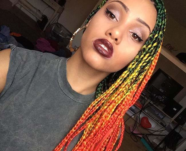 New 35 Awesome Box Braids Hairstyles You Simply Must Try Ideas With Pictures