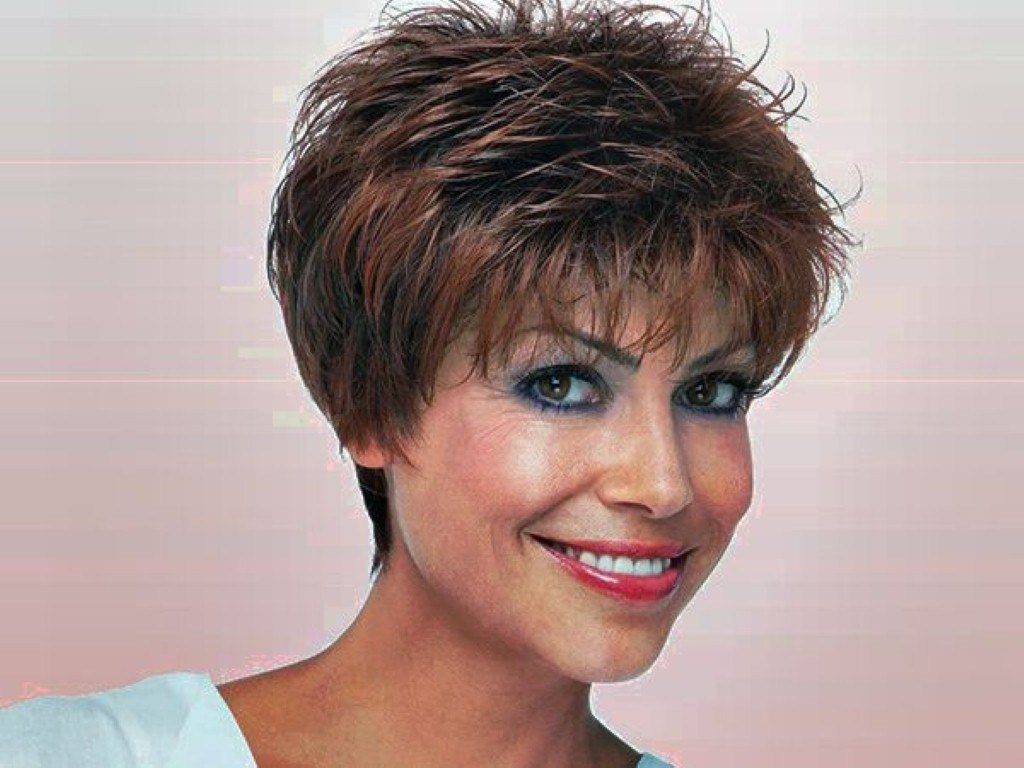 New Very Short Hairstyles For Middle Aged Women Medium Hair Ideas With Pictures
