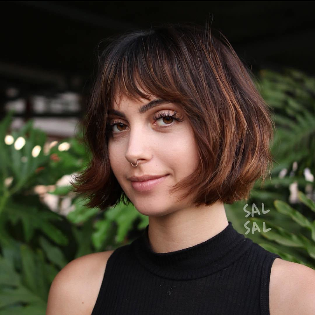 New 40 Most Flattering Bob Hairstyles For Round Faces 2019 Ideas With Pictures