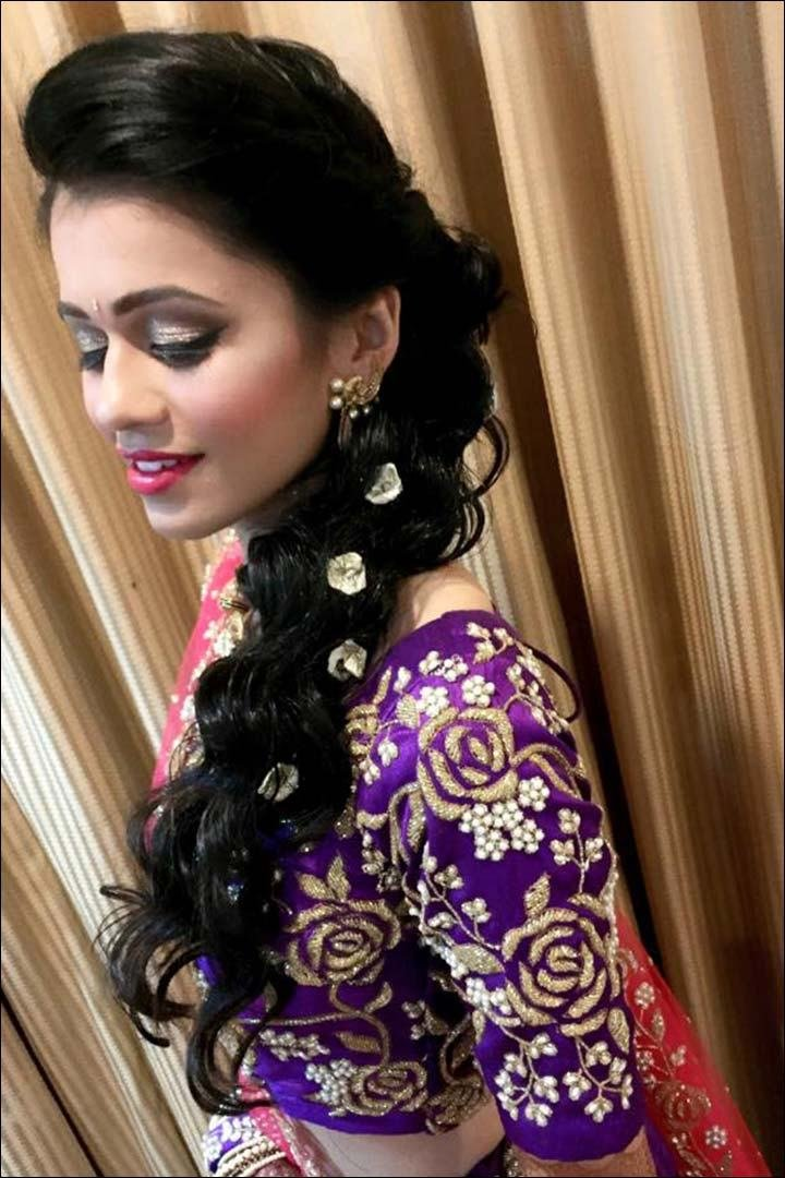 New Perfect South Indian Bridal Hairstyles For Receptions Ideas With Pictures