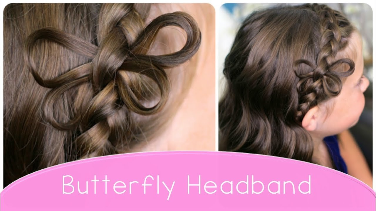 New How To Make A Butterfly Braided Headband Cute Hairstyle Ideas With Pictures