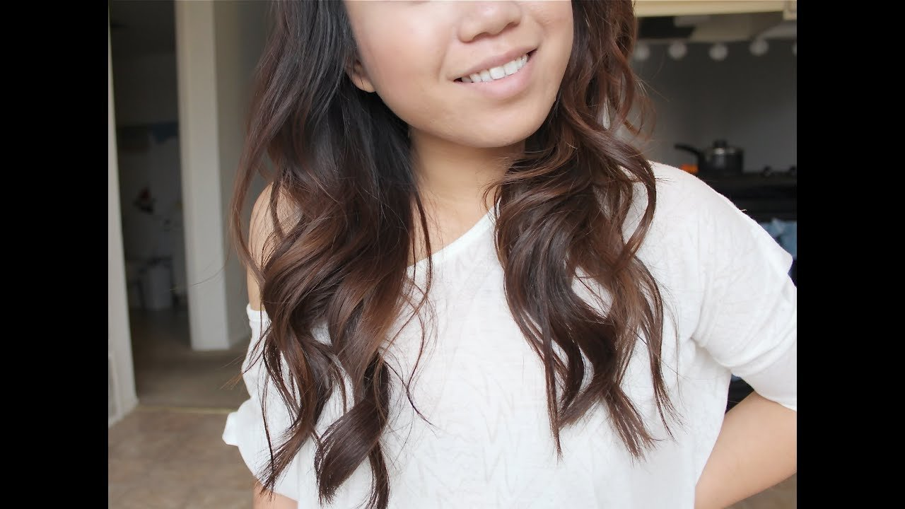 New Quick Easy Soft Loose Everyday Curls How I Curl My Ideas With Pictures