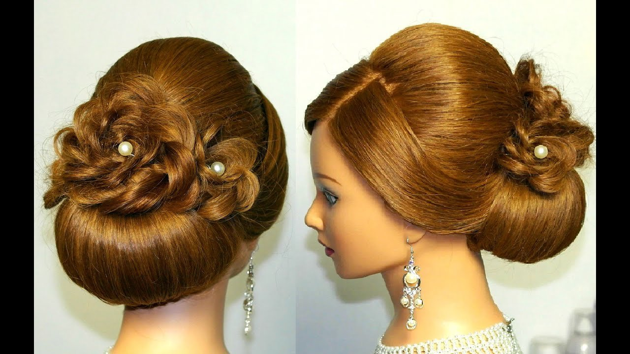 New Wedding Prom Hairstyle For Long Hair Updo Tutorial With Ideas With Pictures