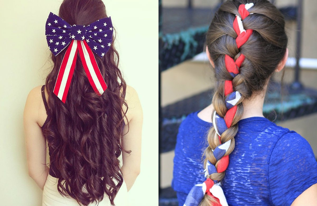 New Fourth Of July Patriotic Hairstyles Hairstyles Haircuts Ideas With Pictures