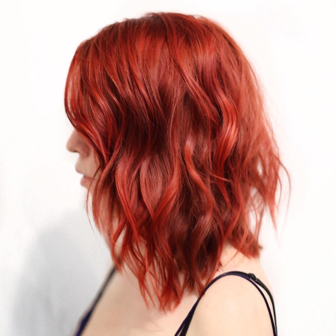 New 20 Bright Red Hairstyles That Sizzle Ideas With Pictures