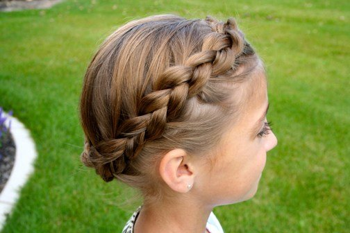 New Braided Crown Updo Hairstyles Cute Girls Hairstyles Ideas With Pictures